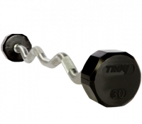 TROY Rubber Barbells